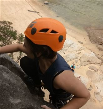 Full day rock climbing on MIT beach - Lan Ha Bay